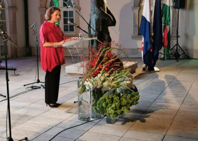Nina Obuljen Korzinek beszéde