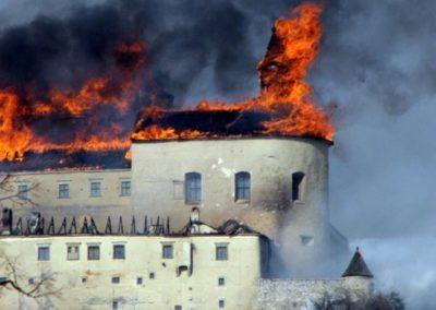 A krasznahorkai tűzvész 2012 márciusában