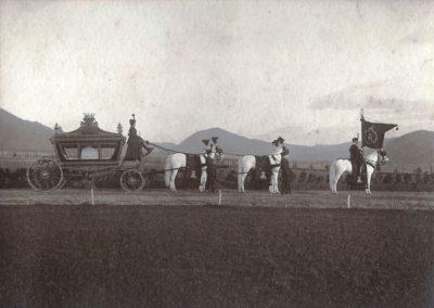 Andrássy Dénesné temetése
