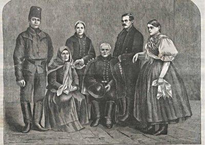 Dobsinai népviselet, 1866