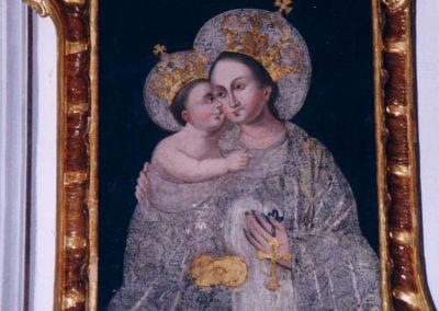 A krasznahorkai Segítő Szűz Mária képe