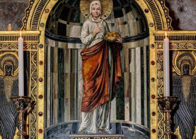 A krasznahorkai mauzóleum Szent Franciska-képe
