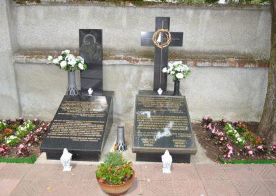 Síremlek a přerovi temetőben